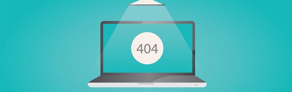 404-es hiba oldal készítése webáruházhoz
