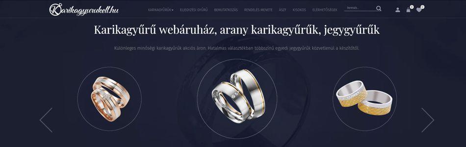 A karikagyurukell.hu webshop keresőoptimalizálása