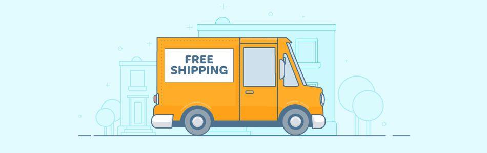 Ingyenes szállítási lehetőségek egy webshopban