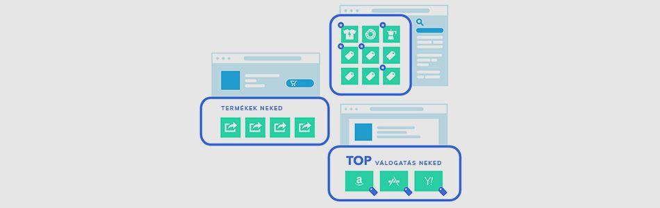 Termékajánlási megoldások webáruházak számára