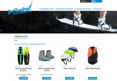 webshop.centralwake.hu webáruház készítés