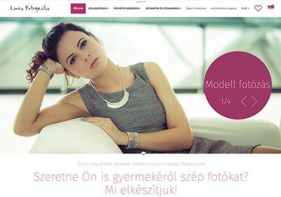 Lineafoto.hu - fényképes ajándék webshop készítés