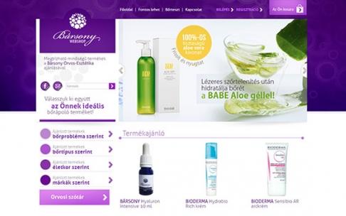 www.barsonywebshop.hu webáruház készítés