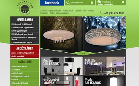 www.csillarbolt.hu webáruház készítés
