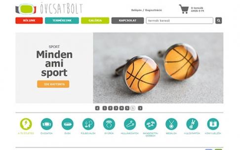 www.ovcsat.hu webáruház készítés
