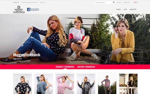Larosamoda.hu női ruha reszponzív webáruház készítés